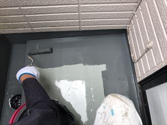 江戸川区ベランダ防水工事終了003