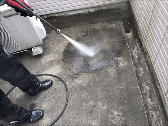 江戸川区モルタル防水施工001