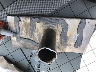 江戸川区モルタル防水施工2日目003