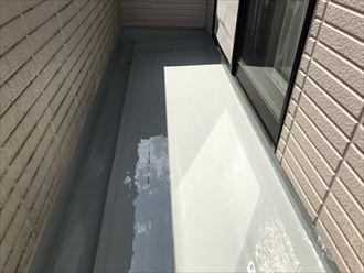 江戸川区モルタル防水施工2日目009