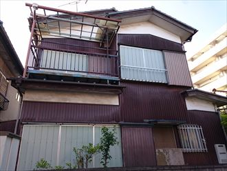 江戸川区一階雨漏り001