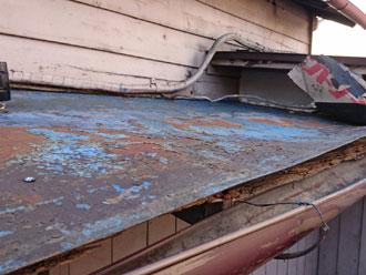 点検,金属屋根