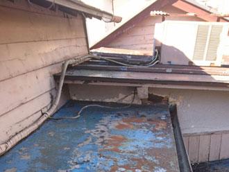 金属屋根,補修