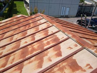 葛飾区トタン屋根塗装002
