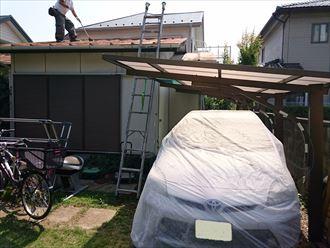 葛飾区トタン屋根塗装004