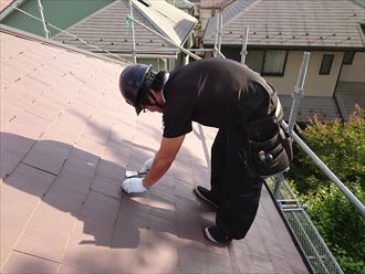 葛飾区屋根縁切り工事003