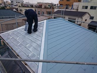 葛飾区明るい屋根色サーモアイ003
