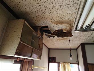 葛飾区セメント瓦雨漏り点検002