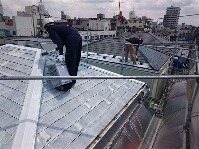 葛飾区三軒屋根塗装001