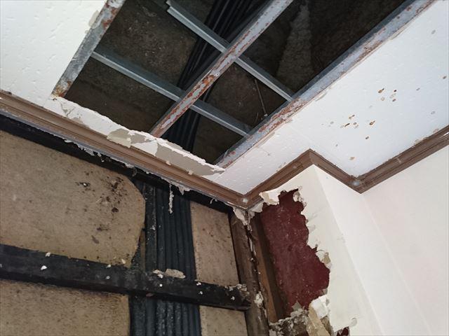 足立区ビル雨漏り原因調査大001