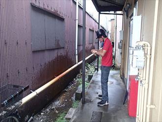 江戸川区雨樋調査