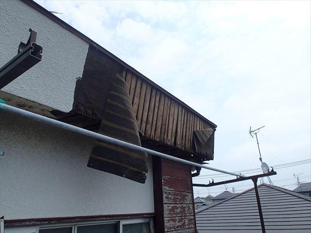 葛飾区雨漏り外壁崩れ