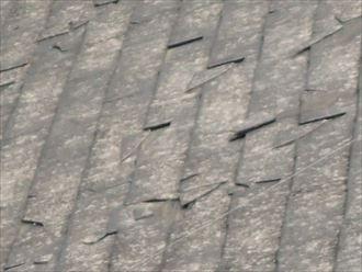 屋根材破損被害