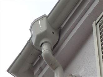 雨樋集水器被害