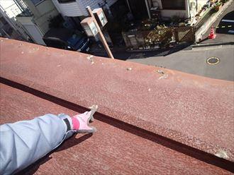 屋根シーリング補修