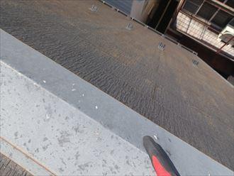 急斜面屋根側