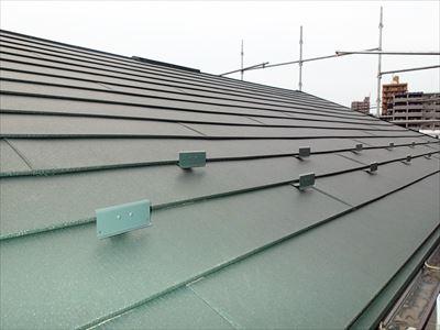 屋根カバー,施工後
