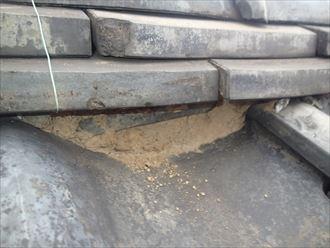 文京区瓦屋根雨漏り