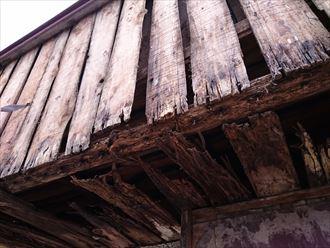 外壁材落下補修工事