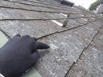 ひょうの被害から屋根カバー工事|東京都北区
