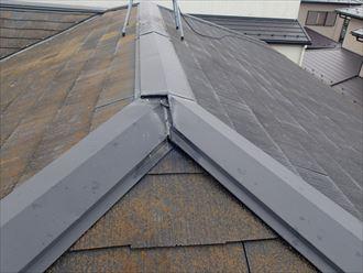 葛飾区屋根棟板金浮き