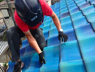 葛飾区瓦屋根防水紙