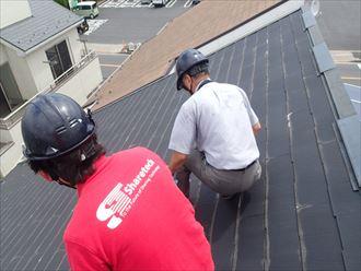 足立区屋根カバー保険申請