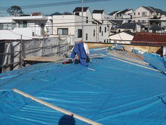 屋根剥がし