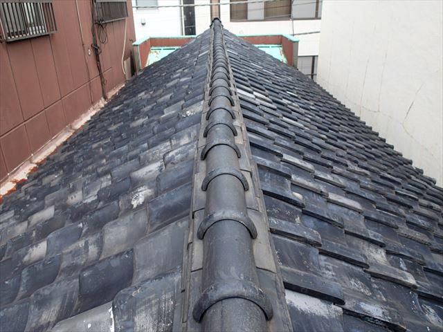 台東区|瓦屋根の雨漏り調査にお伺いしました