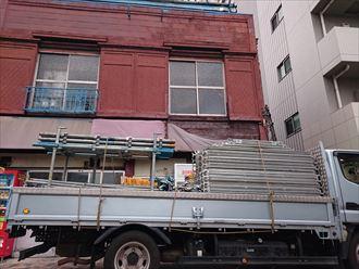 中央区トタン外壁台風被害003