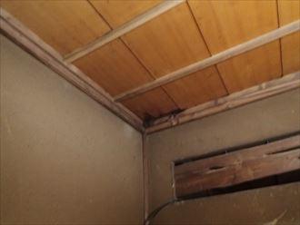 台東区瓦屋根雨漏り