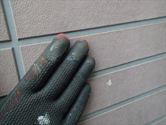 葛飾区外壁チョーキング(白亜化)