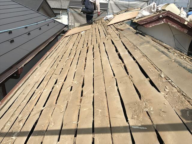 葛飾区瓦屋根葺き替え工事2001