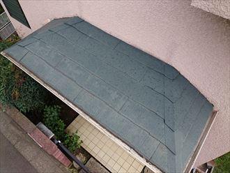 豊島区樋の隙間雨漏り雹災?001