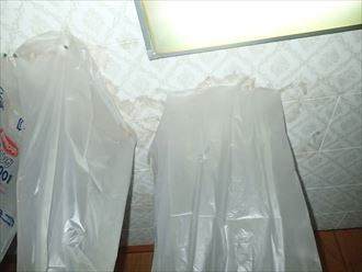 室内雨漏り1