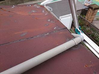 荒川区の台風被害004