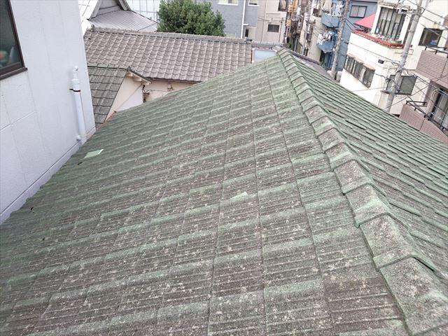 荒川区雨漏りと屋根葺き替え大001