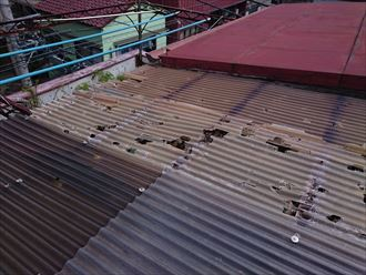 荒川区雨漏りと屋根葺き替え005