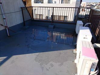 葛飾区屋上雨漏り調査002