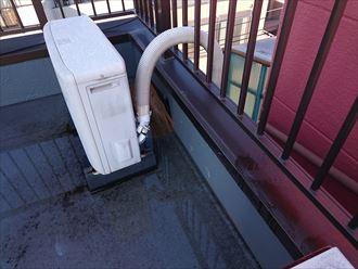 葛飾区屋上雨漏り調査003