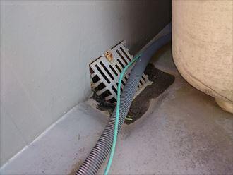 葛飾区屋上雨漏り調査004