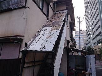 豊島区アパート雹災002
