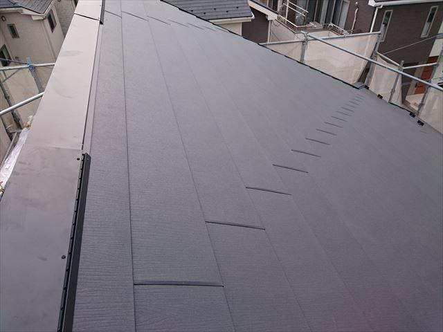 屋根kバー。施工後