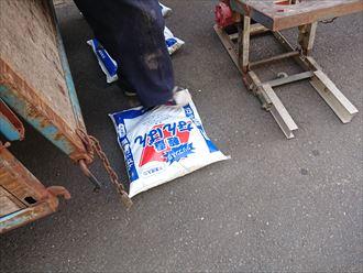 江戸川区丸棟漆喰剥がれ取り直し工事004
