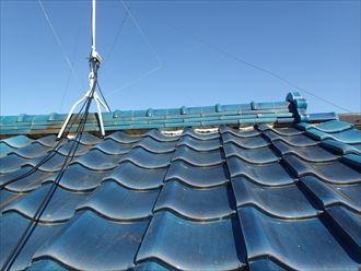施工前の屋根