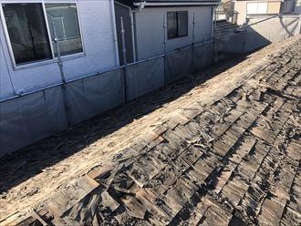 江東区屋根葺き替え工事