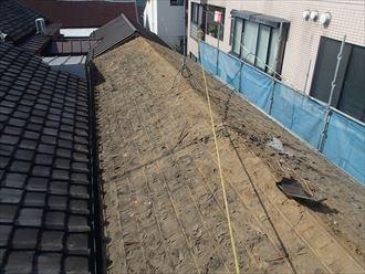 文京区屋根葺き替え工事