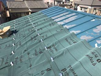 江戸川区アパート屋根カバー005