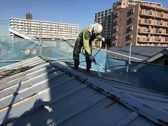 江戸川区屋根塗装工事