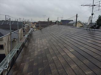 葛飾区アパート屋根塗装工事004